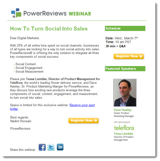 Webinar Invitations: Sell the Event, Not the Product - The ...