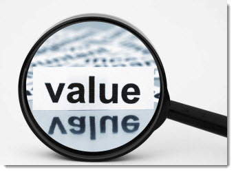 business value vs. personal value