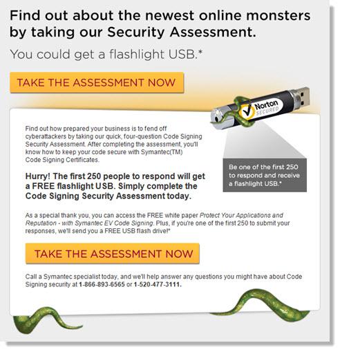 symantec email campaign