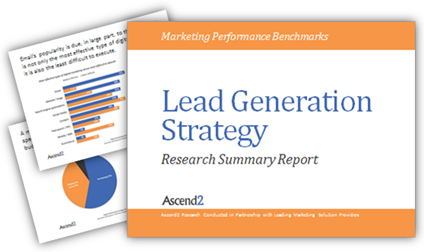 Ascend2 Lead Generation Strategy Research