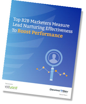 Measuring Lead Nurturing Effectiveness