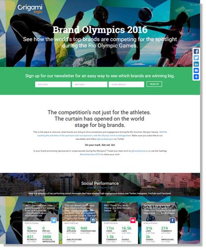 Brand Olympics